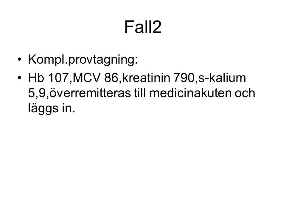 Fall2 Kompl.provtagning: