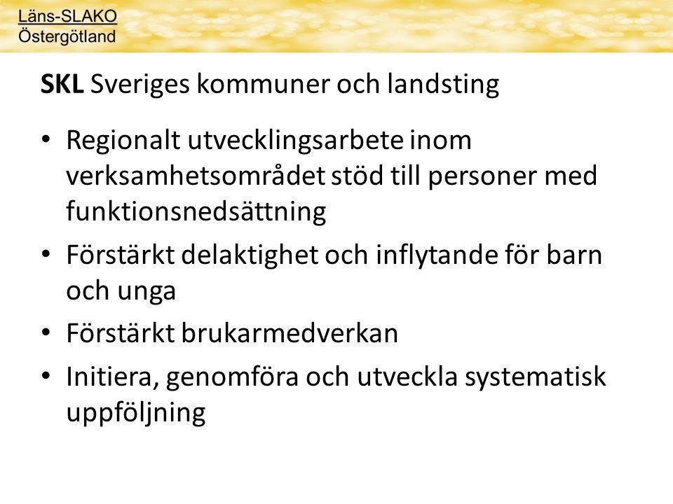 SKL Sveriges kommuner och landsting