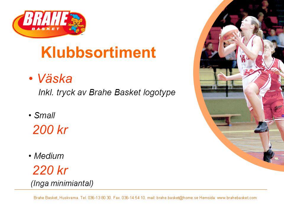 Klubbsortiment Väska 200 kr 220 kr