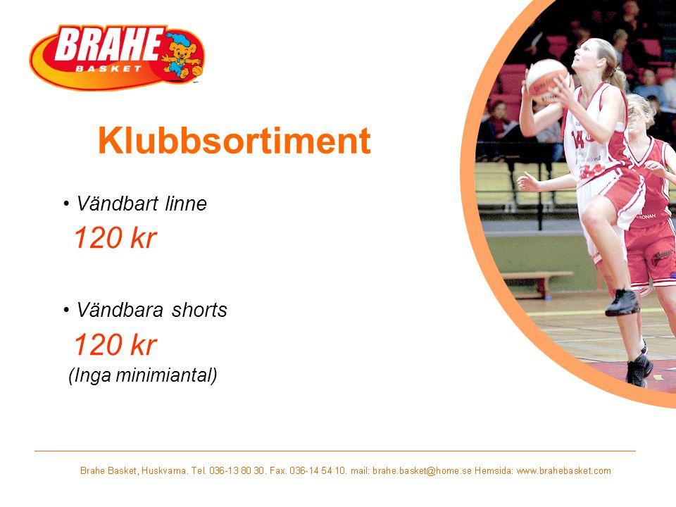 Vändbart linne 120 kr Vändbara shorts (Inga minimiantal)