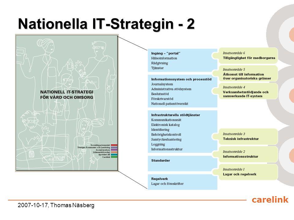 Nationella IT-Strategin - 2