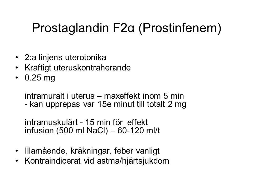 Prostaglandin F2α (Prostinfenem)