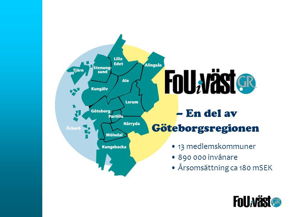 – En del av Göteborgsregionen