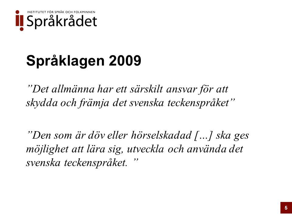 Språklagen 2009