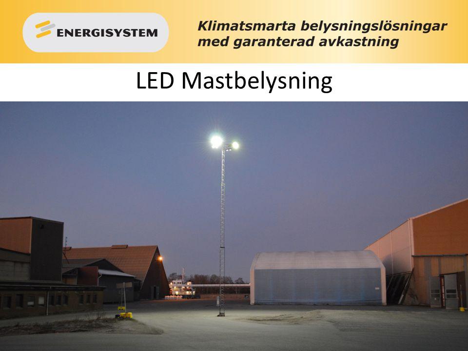 LED Mastbelysning
