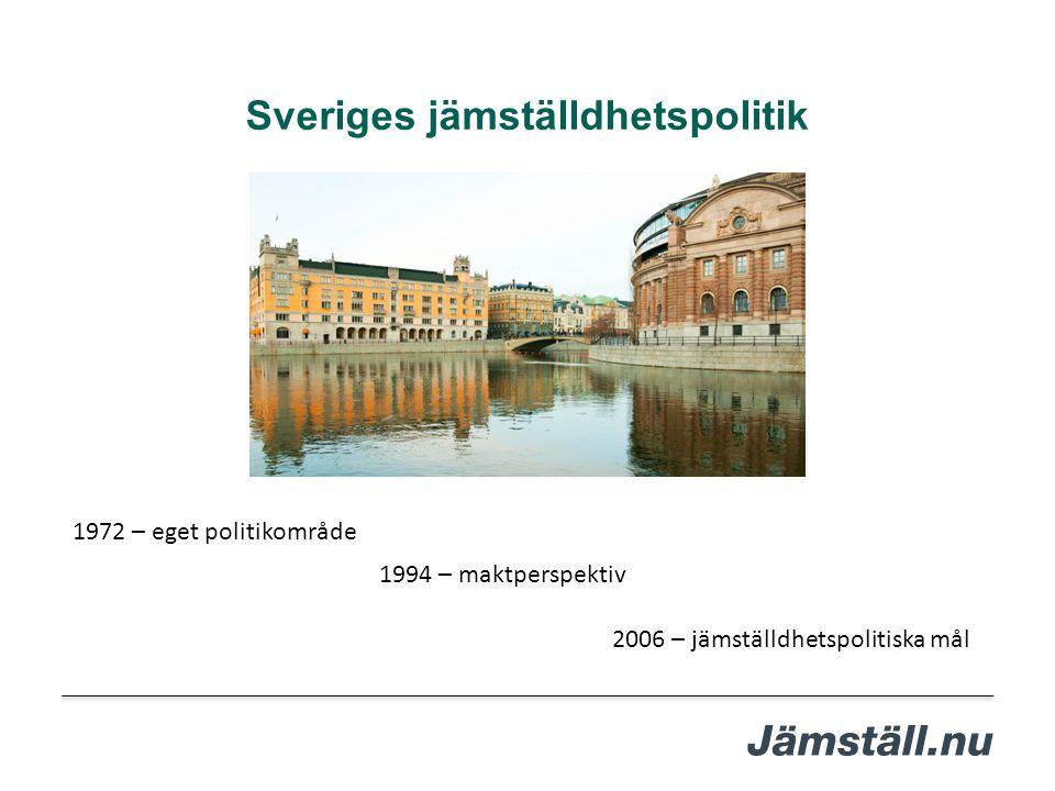 Sveriges jämställdhetspolitik