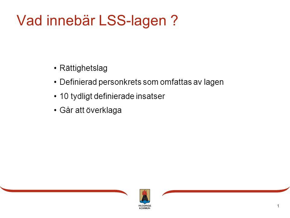 Vad innebär LSS-lagen Rättighetslag