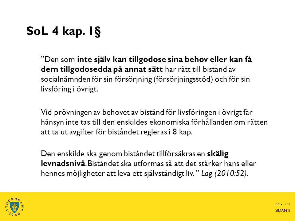 SoL 4 kap. 1§