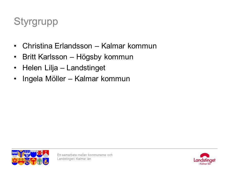 Styrgrupp Christina Erlandsson – Kalmar kommun