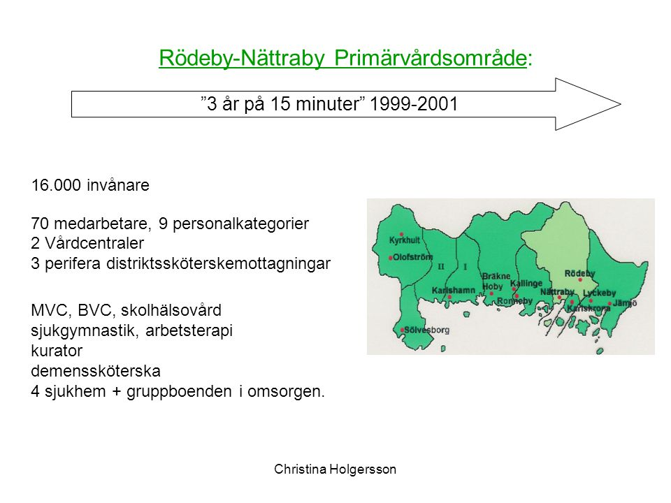 Rödeby-Nättraby Primärvårdsområde: