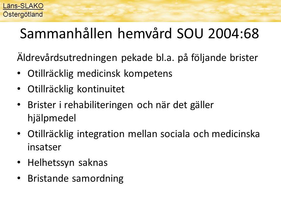 Sammanhållen hemvård SOU 2004:68
