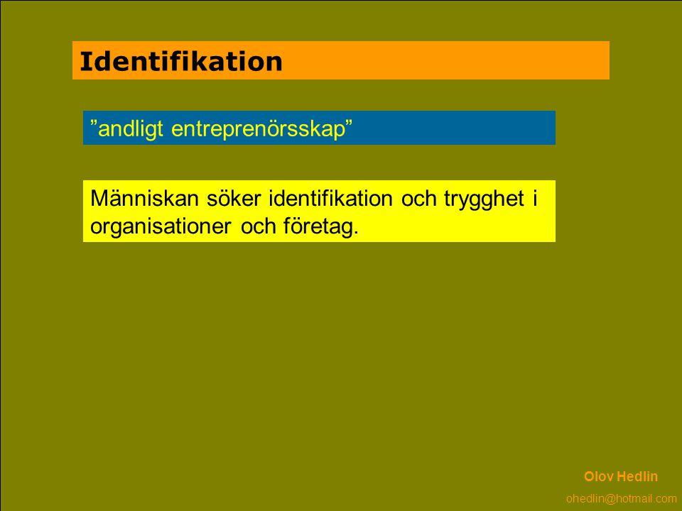 Identifikation andligt entreprenörsskap