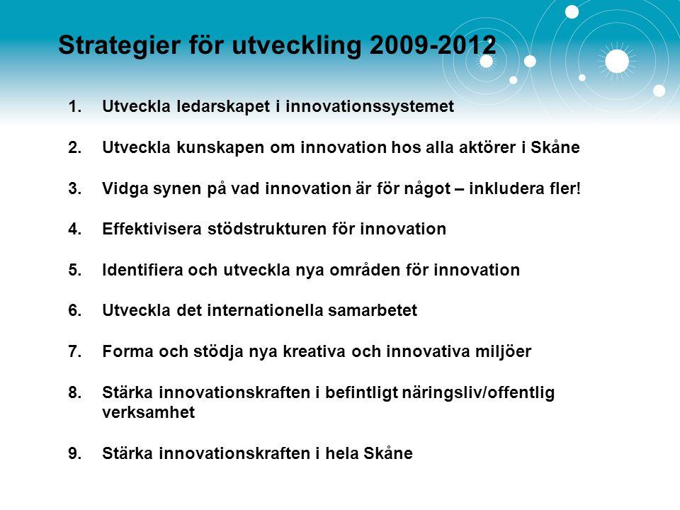 Strategier för utveckling 2009-2012