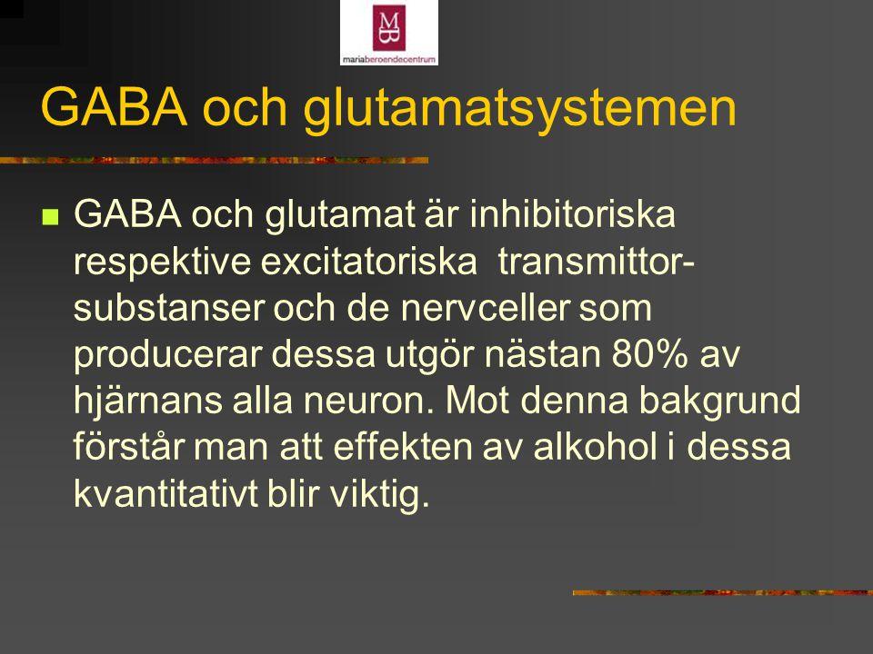 GABA och glutamatsystemen