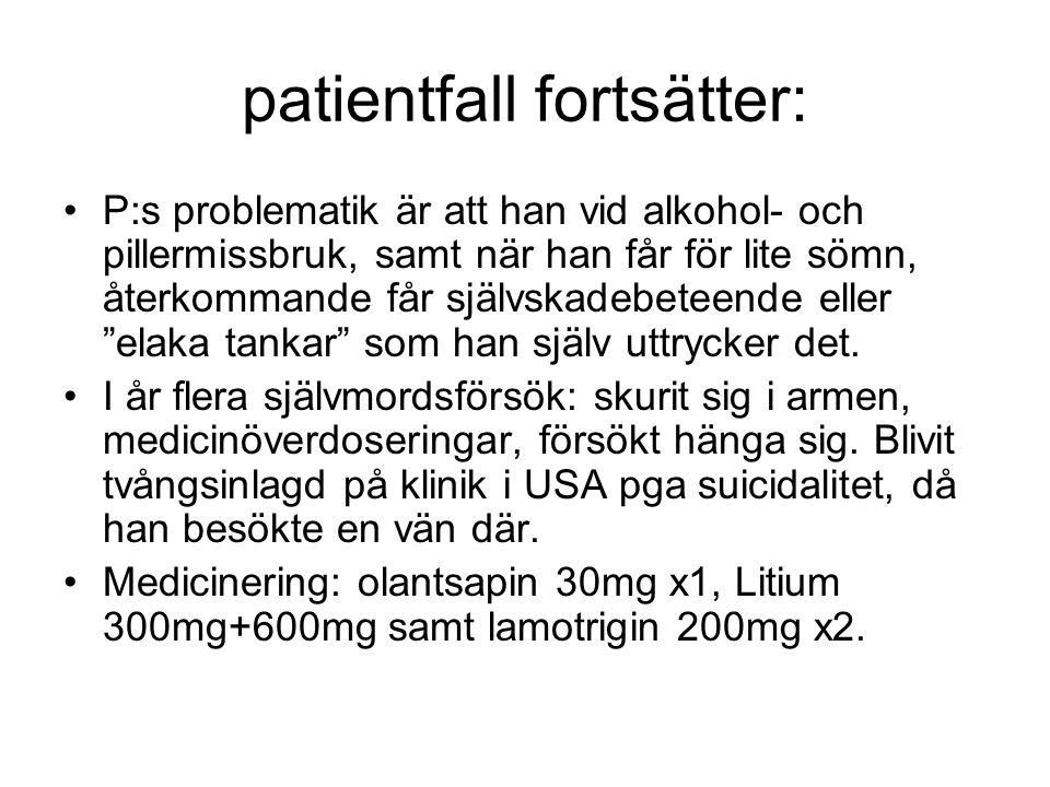 patientfall fortsätter: