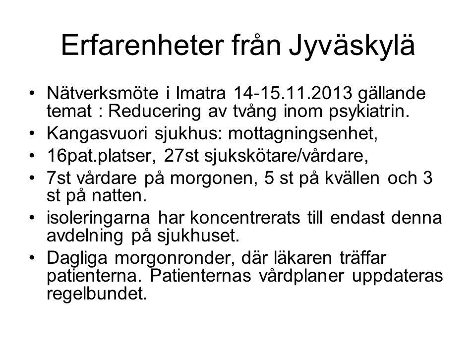 Erfarenheter från Jyväskylä