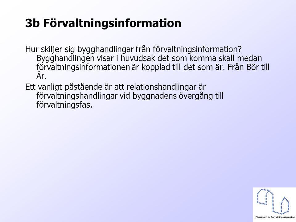 3b Förvaltningsinformation