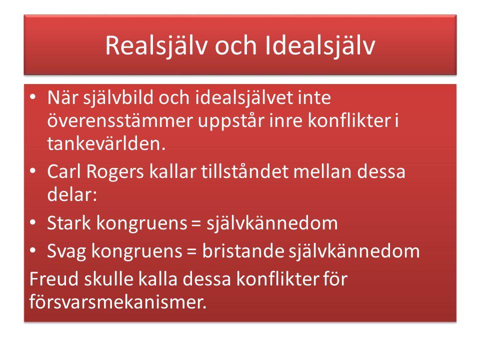 Realsjälv och Idealsjälv
