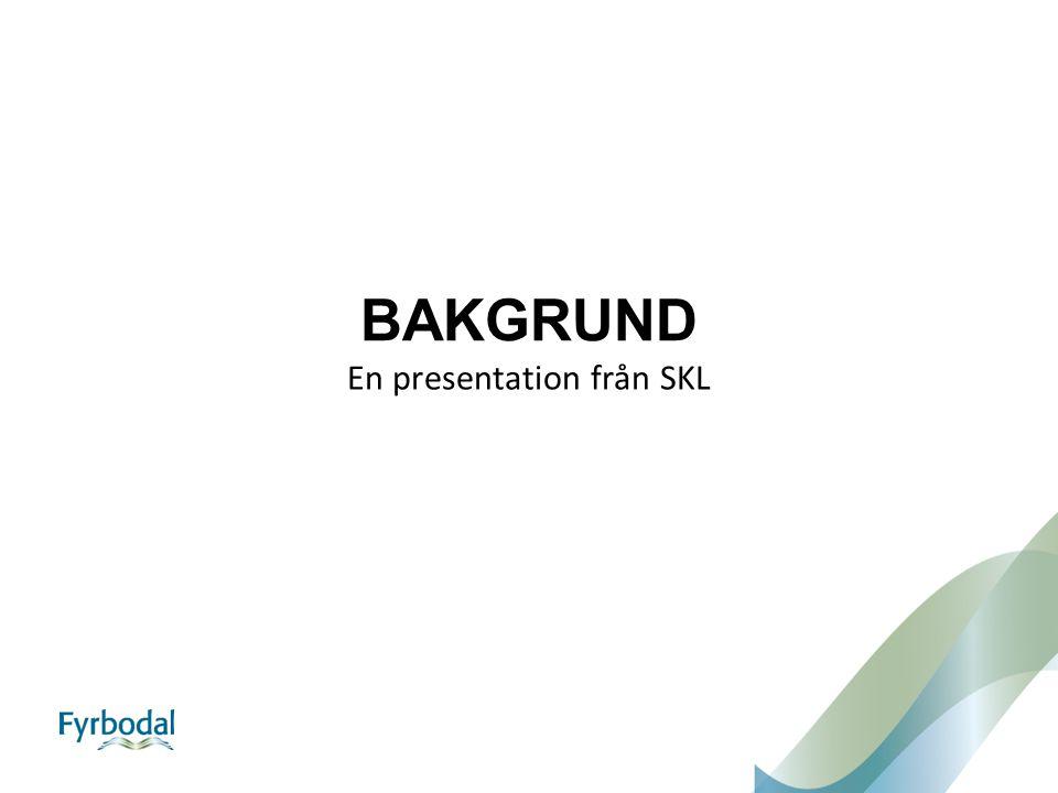En presentation från SKL