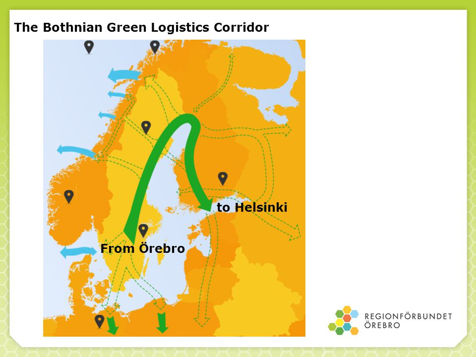 The Bothnian Green Logistics Corridor