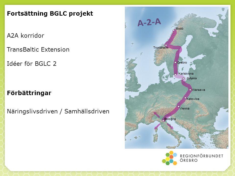 Fortsättning BGLC projekt