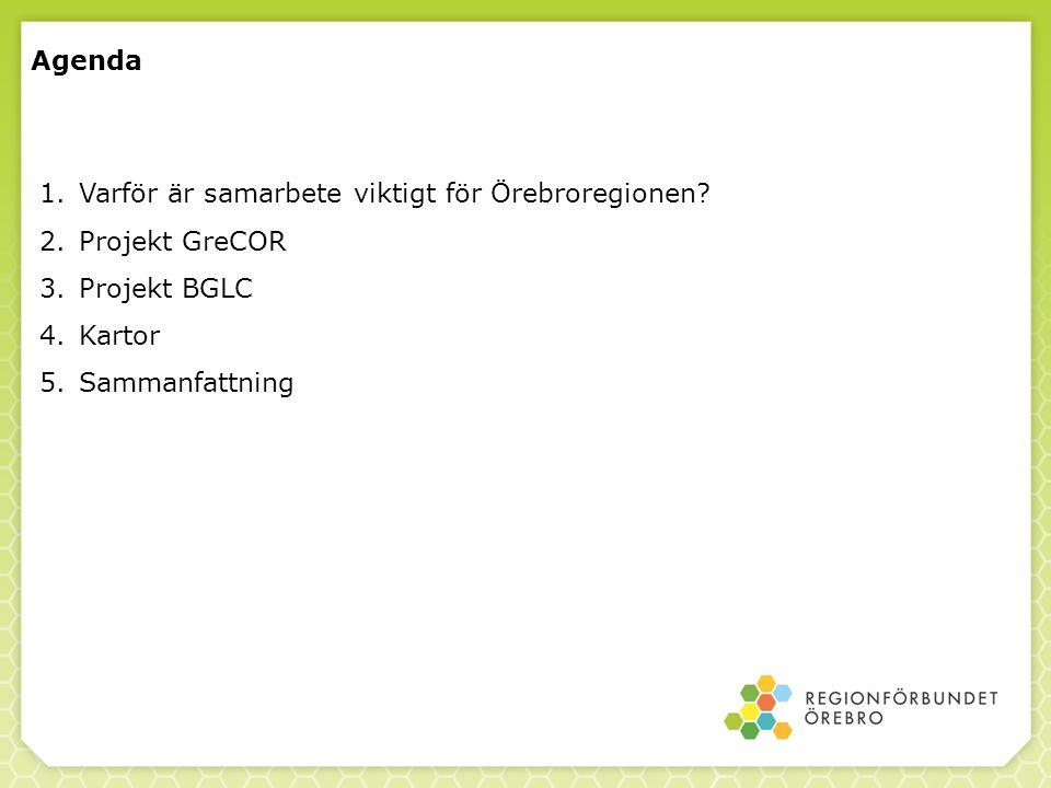 Agenda Varför är samarbete viktigt för Örebroregionen.