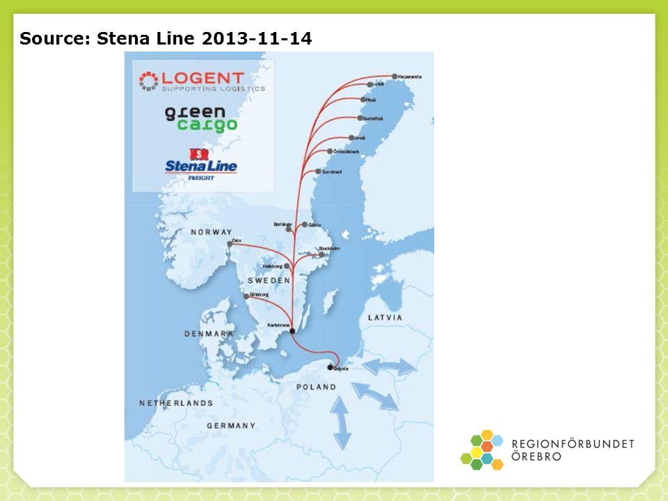 Source: Stena Line 2013-11-14