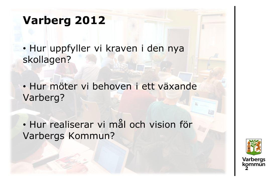 Varberg 2012 Hur uppfyller vi kraven i den nya skollagen