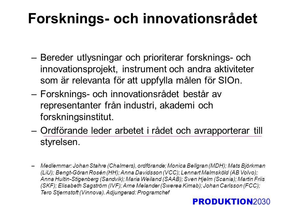 Forsknings- och innovationsrådet