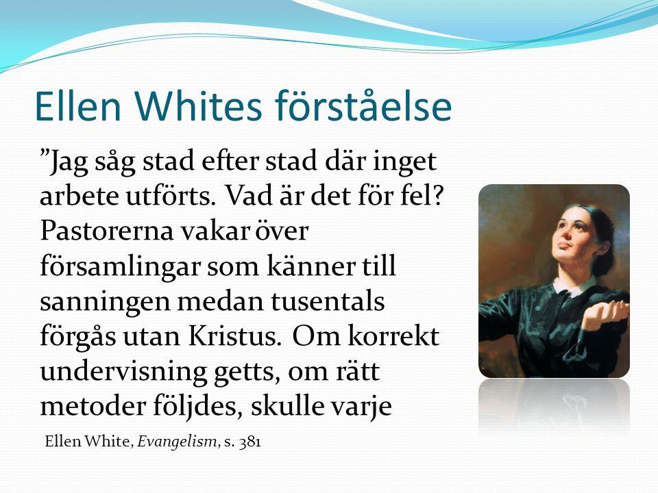 Ellen Whites förståelse