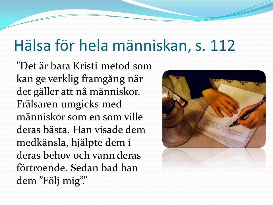 Hälsa för hela människan, s. 112
