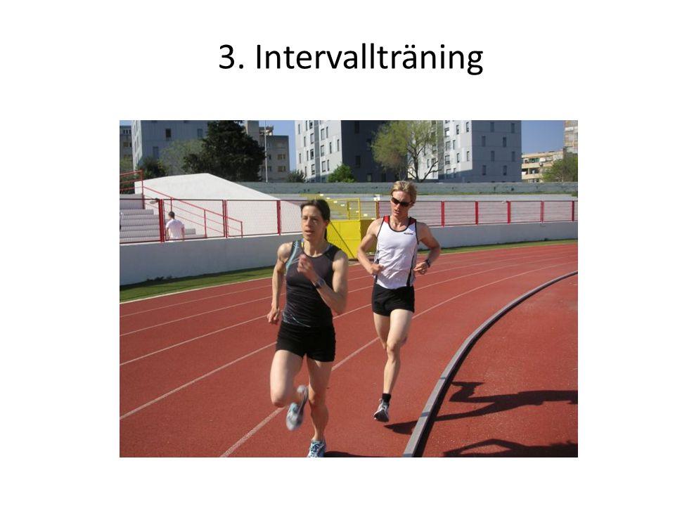 3. Intervallträning