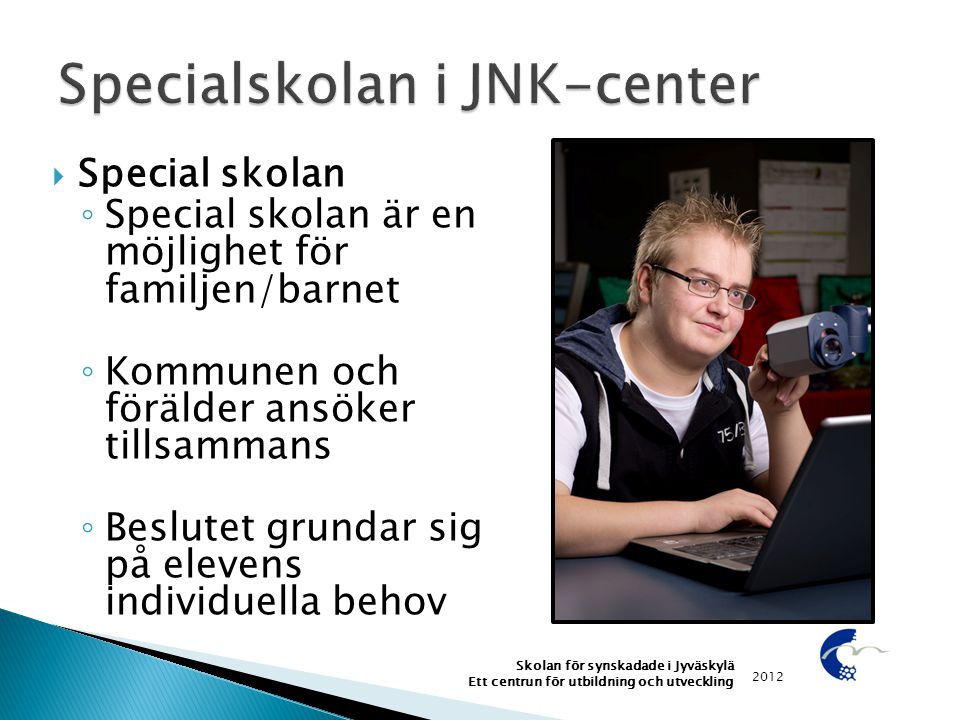 Specialskolan i JNK-center