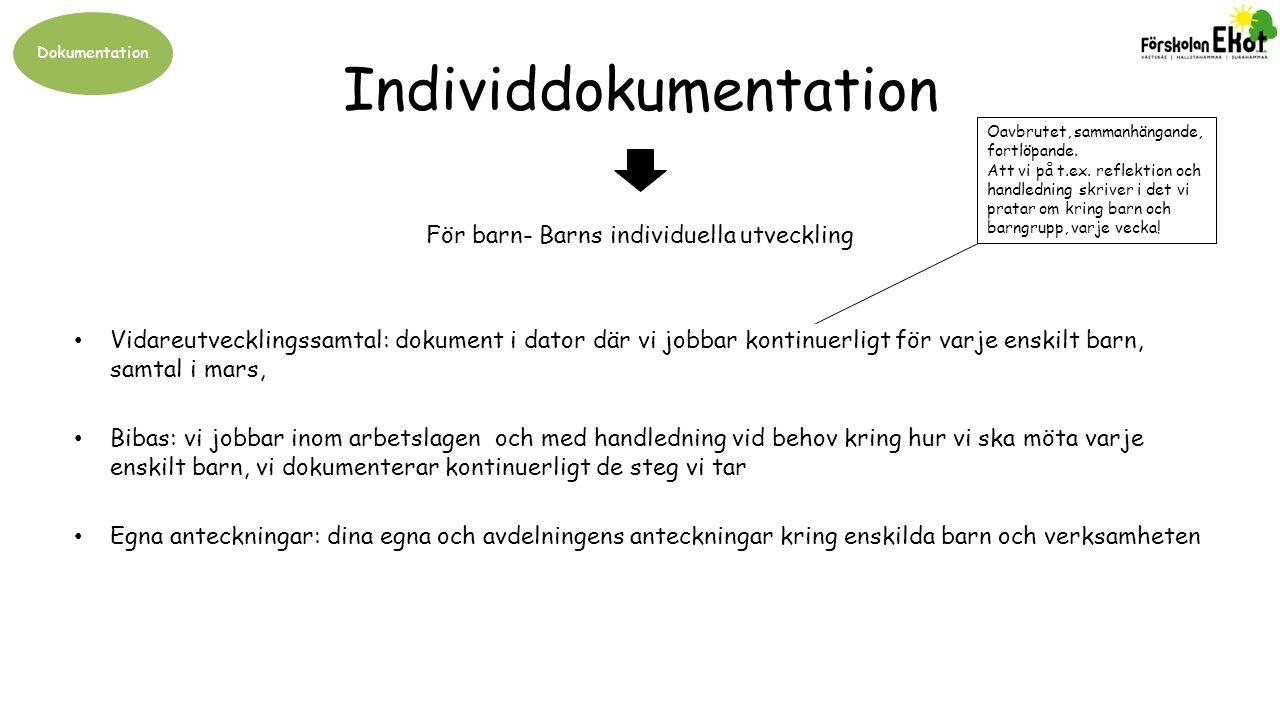 Individdokumentation