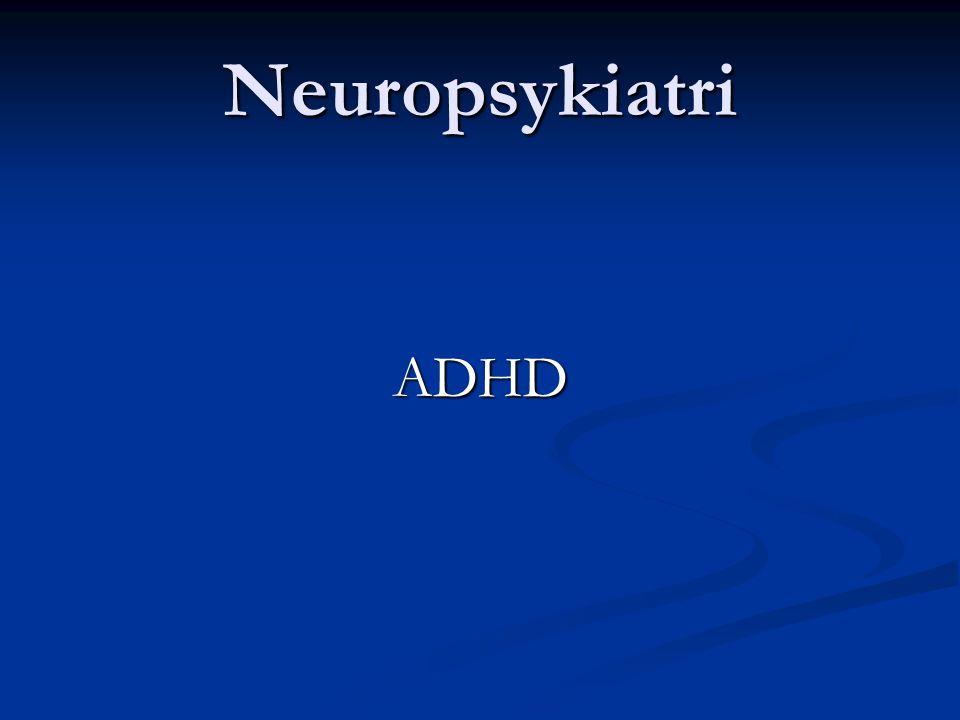 Neuropsykiatri ADHD 2