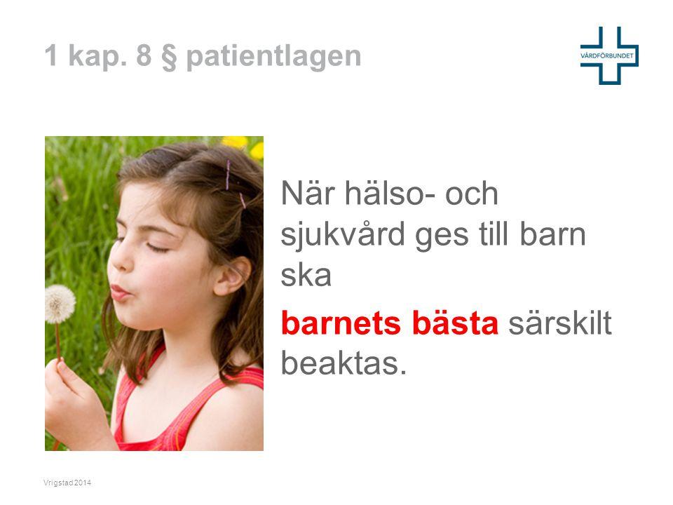 Patientlagen 2014/Carita Fallström