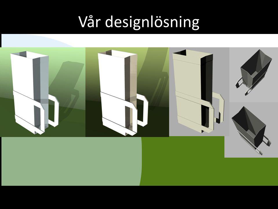 Vår designlösning