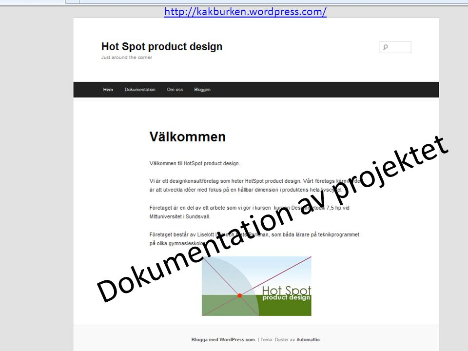 Dokumentation av projektet