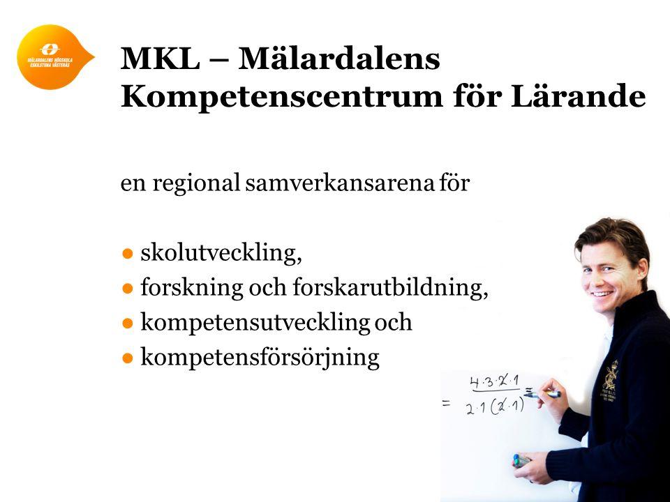 MKL – Mälardalens Kompetenscentrum för Lärande