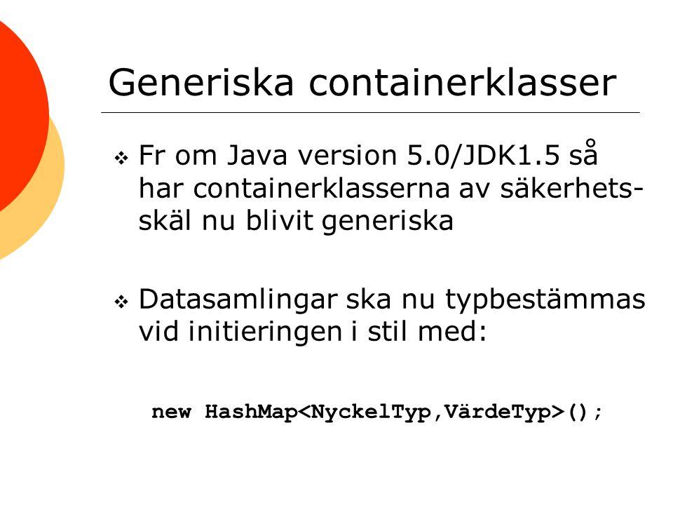 Generiska containerklasser