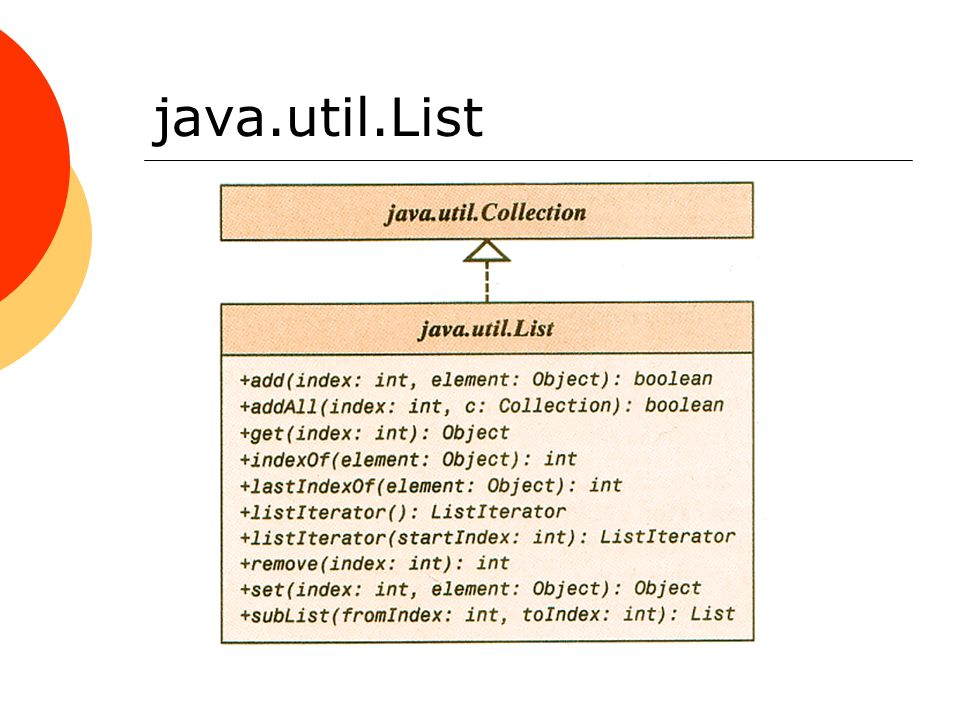 java.util.List