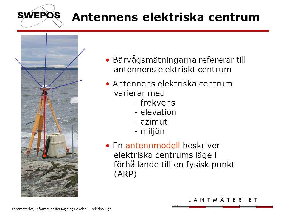 Antennens elektriska centrum