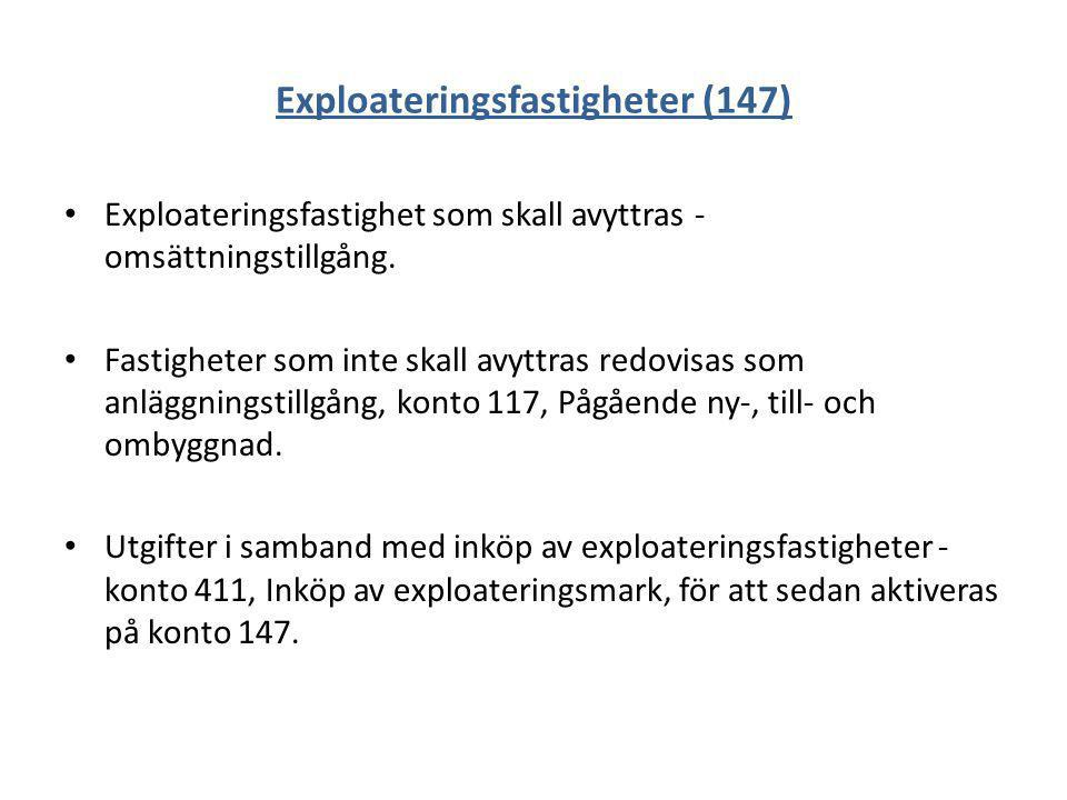 Exploateringsfastigheter (147)