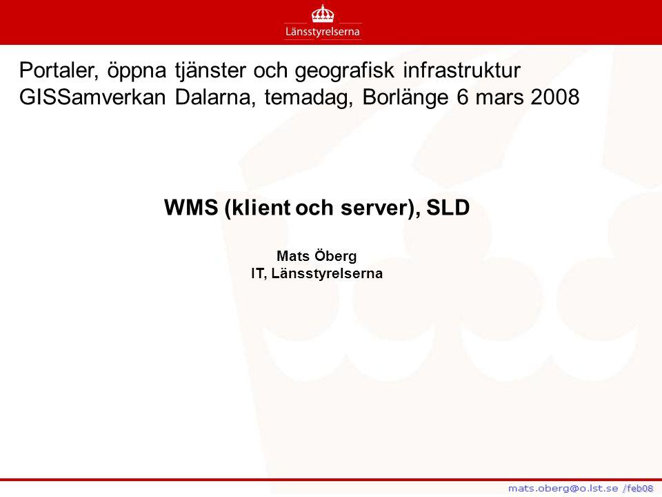 WMS (klient och server), SLD