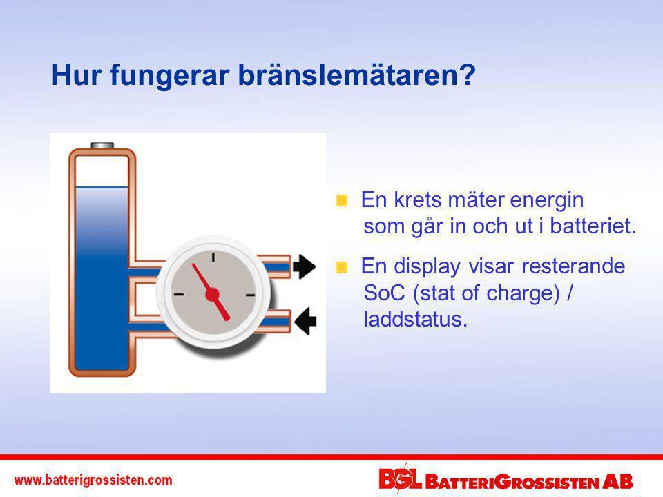 Hur fungerar bränslemätaren