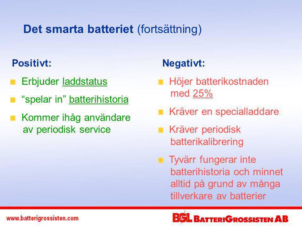 Det smarta batteriet (fortsättning)