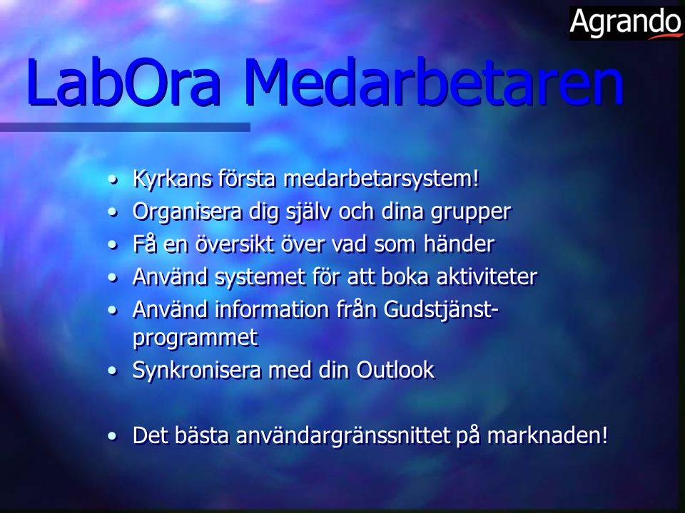 LabOra Medarbetaren Kyrkans första medarbetarsystem!