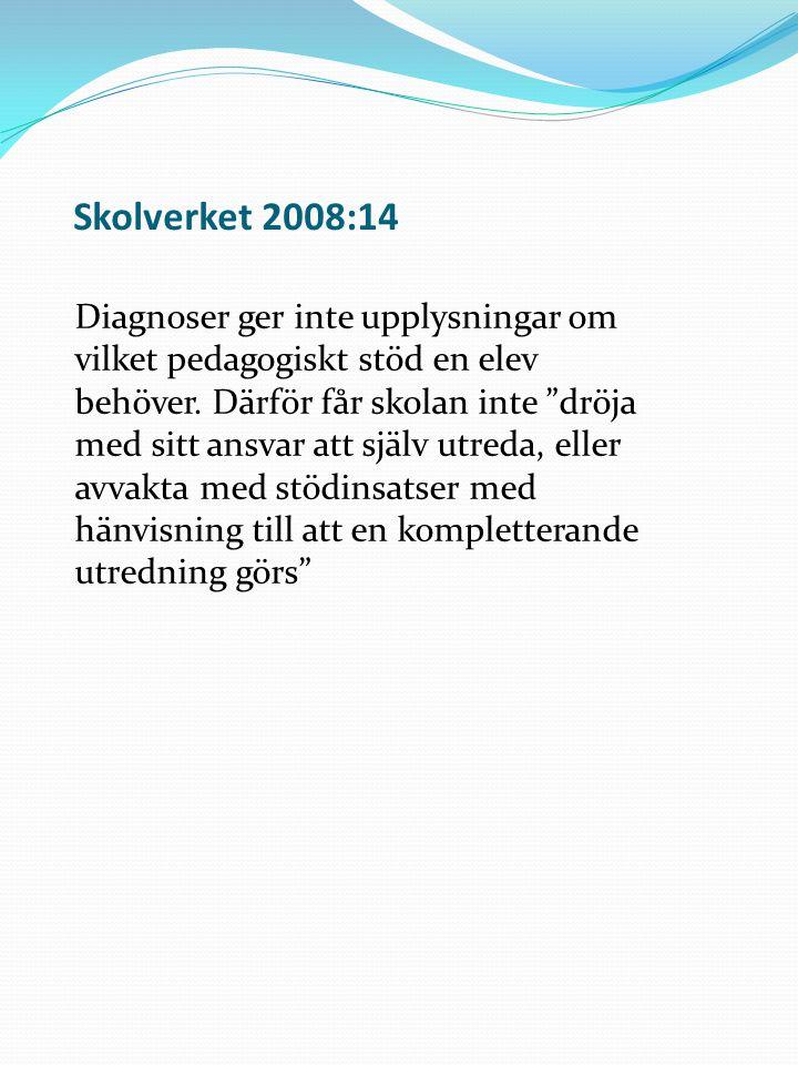 Skolverket 2008:14