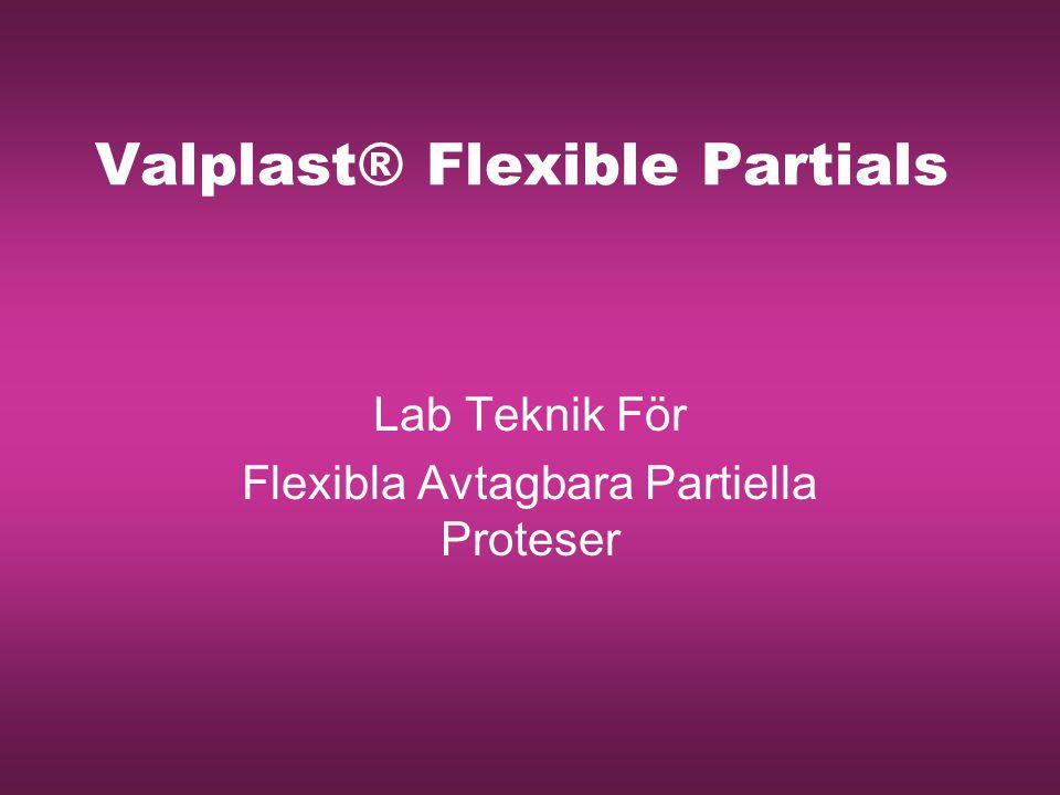 Valplast® Flexible Partials