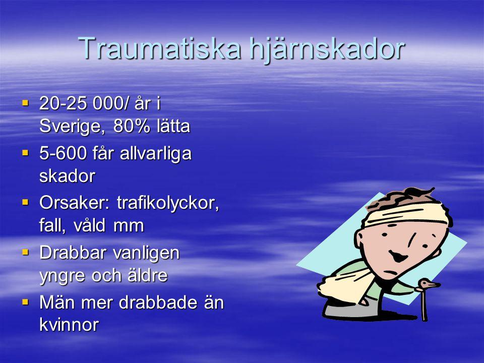 Traumatiska hjärnskador